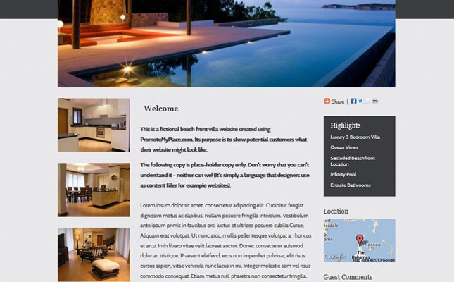New Holiday Rental Templates & More Flexibility